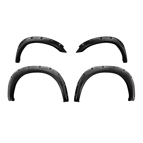2013 Fender Trim - Premium Fender Flares for 2010-2018 Dodge Ram 2500 3500 (Fit Fleetside 76.3