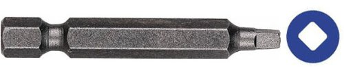Drill America INS Series Square Drive Power Bit, 1/4'' Hex Shank, R3 Size, 1-15/16'' Length (Pack of 50) by Drill America