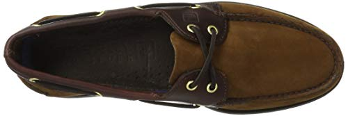 Original Suede da Barca 2 Sperry Brown Authentic Scarpe Eye Uomo wXYq6z65