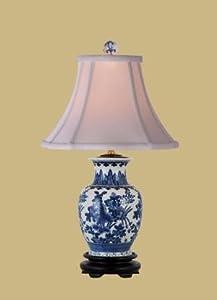 East Enterprises LPBWY108B Vase Table Lamp   Blue And White