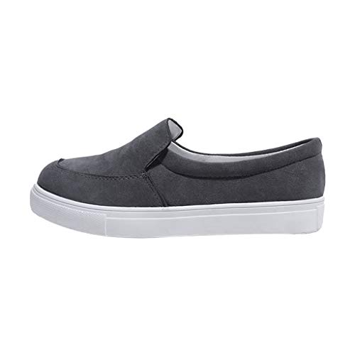 Women Flat Solid Shoes - Low Heel Flock Shallow Casual Sneakers Ladies Single Shoes,2019 New