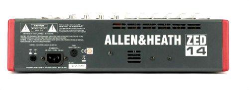 Allen & Heath ZED-14 14-Channel Mixer with USB Interface by Allen & Heath (Image #2)