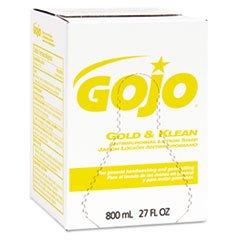 GOJ912712 - GOJO 9127-12 Gold amp; Klean Antimicrobial Lotion Soap Refills, 800 mL
