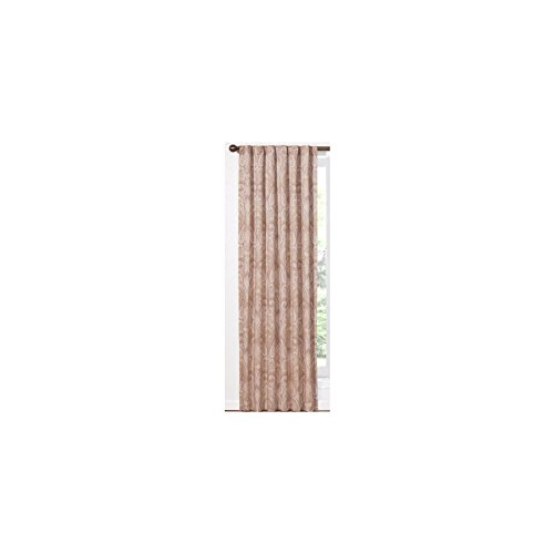 Waverly Home Classics Cashmere Pearl Back Tab Window Curtain Panel 50 in x 84 in