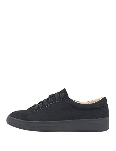 LOUVEL Women Sneakers Black