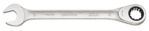 GEDORE 7R-22 Combination Ratchet Spanner, 22 mm (Spanner Combination Mm 22)