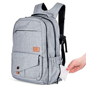e17aac6e4a71 Amazon.com   Backpack Diaper Bag for Baby by ToteNvy-Large Multi ...