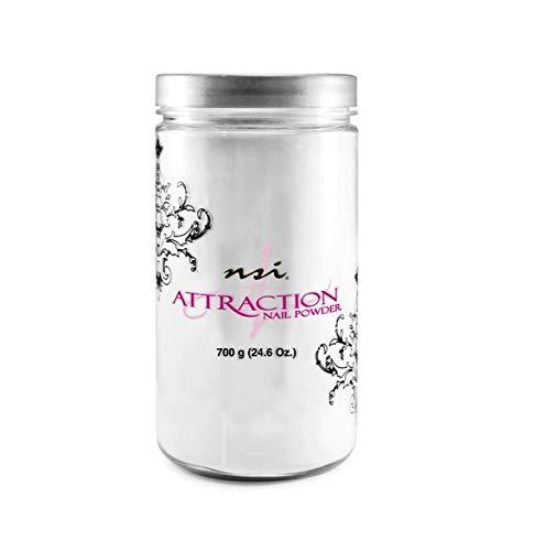 NSI Attraction Nail Powder - Soft White - 24.6oz / 700g B0095UFVSW
