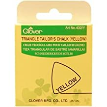 Bulk Buy: Clover Triangle Tailors Chalk Yellow (3-Pack)