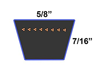 D/&D PowerDrive 310672 Sears or Roper or AYP Kevlar Replacement Belt