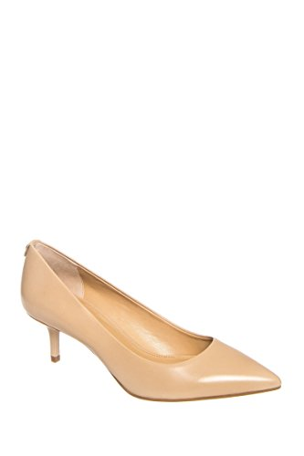 - Michael Michael Kors Women's MK Flex Kitten Pump Nude Smooth Kid 8 M