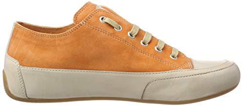 De Naranja Candice Mujer Cooper Rock 009 Derby Zapatos Para Cordones arancio 66tSwAx
