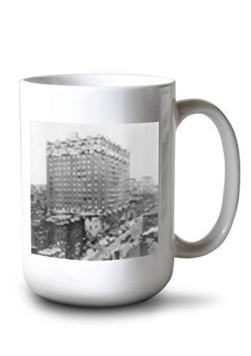 (Lantern Press Ritz-Carlton Hotel on Madison Avenue and 46th Street NYC Photo (15oz White Ceramic Mug) )