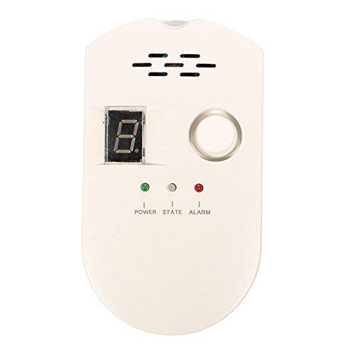 Zinnor High Sensitivity LPG LNG Coal Gas Leak Detector Alarm Monitor Alarm Sensor