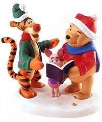 Disney Pooh & Friends Fa La La To You Winnie The Pooh, Tigger and Piglet Collectible Figurine