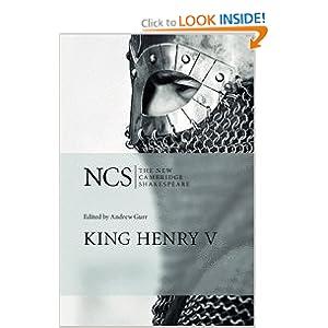 King Henry V (The New Cambridge Shakespeare) Andrew Gurr
