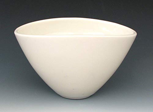 TRANSLUCENT PORCELAIN BOWL #16 - Small White Bowl - Ceramic Bowl - Translucent Bowl - Dessert Bowl - Ice Cream Bowl - Salad Bowl - Soup Bowl