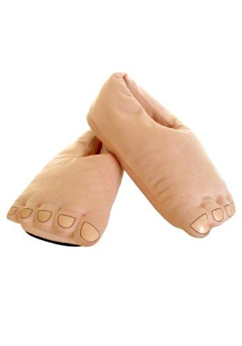 Men's Plush Cavemen Funny Slipper Feet Footwear -