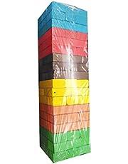 لعبة ترتيب المكعبات والتحدي جينقا ملونة 54حبة الحجم الكبير