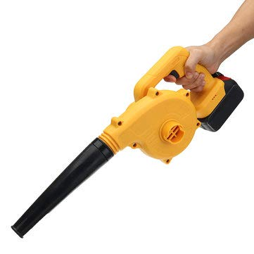 21V Li-ion Blower Leaf Blower Rechargeable Battery Cordless