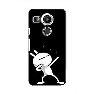 Cover It Up - Rabbit Lightning Pose Nexus 5X Hard case