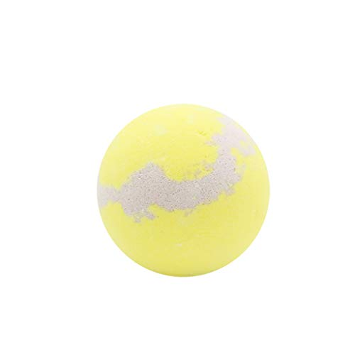 Togethor Bathing Bombs Lemon Ocean Explosion Ball Fizzy Spa Moisturizes Bubble Bath Essential Oils for Smooth ()