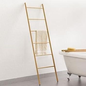 Enjoy toallero escalera de madera de haya: Amazon.es: Juguetes y juegos
