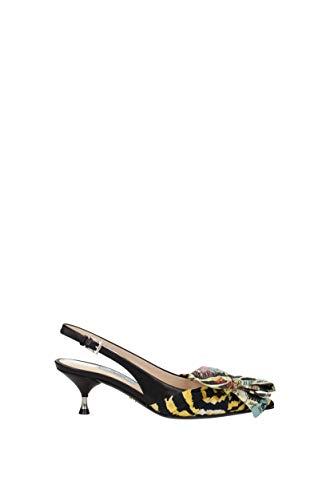 Uk Donne Prada Tessuto In 1i690isttigrevitell Multicolore Sandali q8qX6w5T
