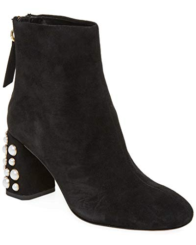 alice + olivia Mulberry Pearl Studded Bootie, 38.5