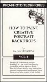 Movie Photo Back (Pro-Photo Techniques Vol. 4: How To Paint Creative Portrait Backdrops [VHS])