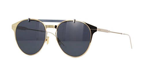 New Christian Dior Homme MOTION 1 J5G/IR Gold Light Blue - Homme Dior Sunglasses
