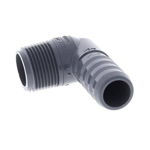 Drip Depot Barb Tubing x MPT Elbow Adapter - Barb Size : 3/4