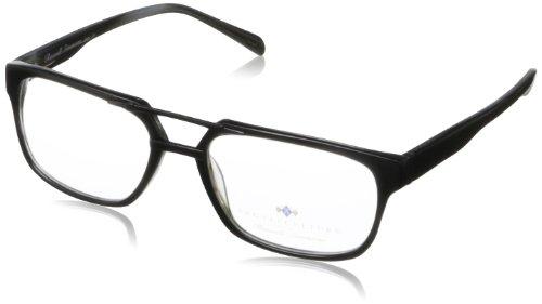 Argyleculture Men's Beck Rectangular Eyeglasses,Black,56 - Sunglasses Beck