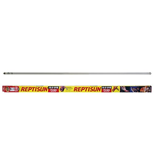 "Zoo Med ReptiSun 10.0 UVB T5HO 54 watt 46"" Reptile Lighting Fluorescent Tube by Zoo Med"
