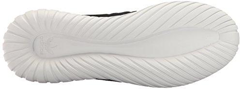 adidas Originals Herren Tubular Radial Fashion Sneaker Schwarz / Schwarz / Vintage Weiß St