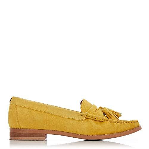 Donna In Pelle Moda Yellow Balletto gzB0wqw
