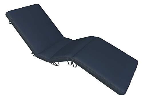 Royal Teak Collection CUSBN Sun Bed Cushion, Navy