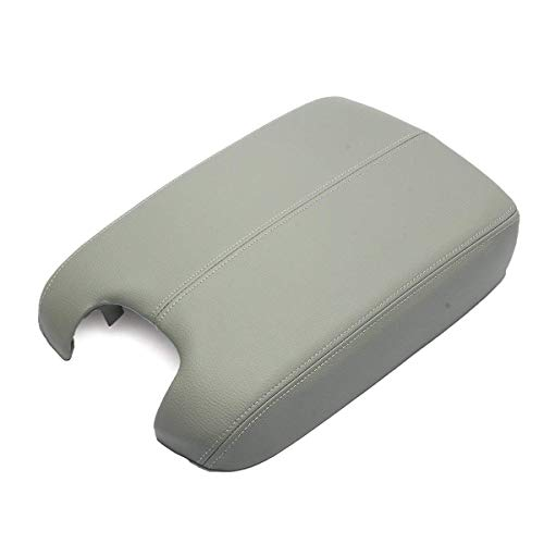 Interior Armrest - MATCC Center Console Lid Armrest Cover for 2008 2009 2010 2011 2012 Honda Accord Synthetic Leather (Vinyl) Plastic Center Gray