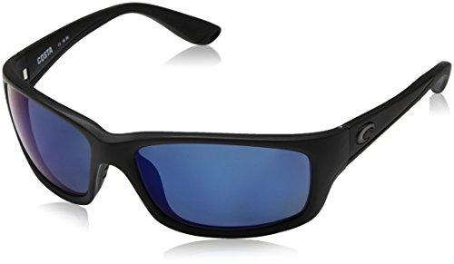 Costa Del Mar Jose Sunglasses, Blackout, Blue Mirror 580 Plastic ()