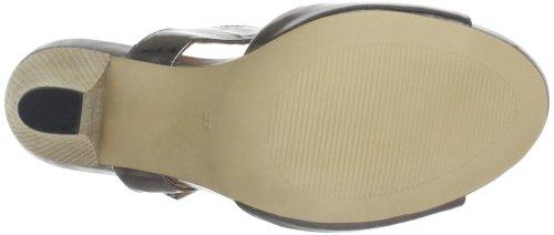 Giudecca Nonoc JYS1344 - Zapatos con correa de tobillo de cuero para mujer Gris (Grau (Gun))