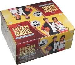 Topps High School Musical Expanded Edition Trading Cards & Stickers Fun Box [24 Packs] by Topps ()