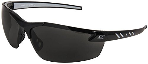 (Edge Eyewear Smoke Safety Glasses, Scratch-Resistant, Half-Frame)