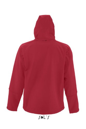SOL´S - Hooded Softshell Jacket Replay XS,Pepper Red
