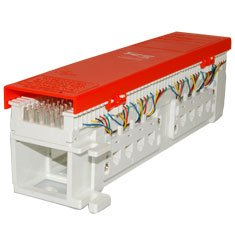 amazon com icc 66 wiring block 12 jacks 6p4c 50 pair rh amazon com 110 Block Wiring Diagram 25 Pair 110 Block Wiring