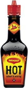 Maggi Scharf & Wuerze Flasche (Hot) 104 ml (Seasoning)