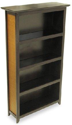 Furniture Rattan Media Storage Center - 140 DVDs