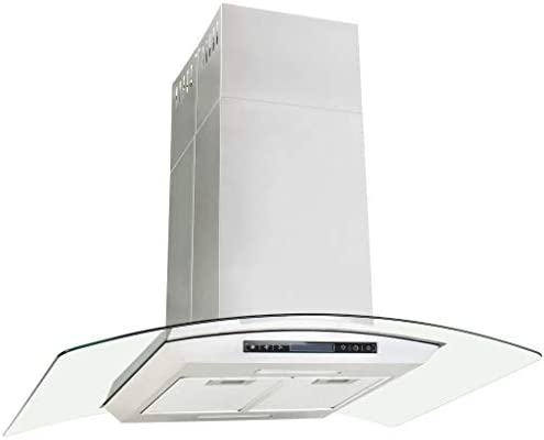 vidaXL Campana Extractora de Techo 90cm Pantalla Táctil 756m³/h LED Cocina: Amazon.es: Grandes electrodomésticos