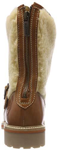 Gant G423 Bottes Cognac Natalie Camel Femme Motardes Marron rwrR50q8
