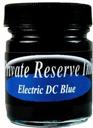 Private Reserve Ink Electric DC Blue Fountain Pen Bottled Ink 60mL