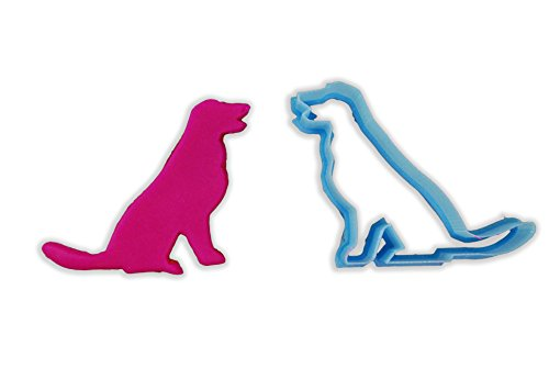- Sitting Golden Retriever Dog Breed Cookie Cutter - LARGE - 4 Inches